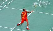 北京时间2012年7月26日,中国羽毛球队训练备战伦敦奥运会。