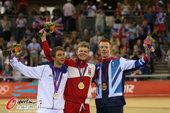 北京时间8月6日,伦敦奥运会场地自行车男全能1公里计时赛决赛,丹麦选手拉瑟-诺曼-汉森获得金牌,而法...