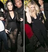 搜狐娱乐讯 近日,考特妮-卡戴珊与科勒-卡戴珊两姐妹日前现身贾斯汀比伯举办的格莱美前夜派对。两人齐齐...
