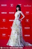 搜狐娱乐讯 第十八届上海电影节落下帷幕,美少女徐娇花裙亮相宛如花仙子。