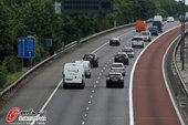2012年7月16日,2012年伦敦奥运会前瞻,奥运专用车道启用。