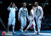 北京时间2012年8月5日,2012年伦敦奥运会男子花剑1/4决赛,英国40:45负意大利。 更多奥...
