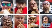近日,第五届世界浇汁薯条竞食赛在加拿大多伦多举行,美国参赛者马特·史托尼以在10分钟内吃掉14.75...