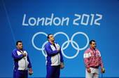 京时间8月8日凌晨,2012年伦敦奥运会继续第11日角逐。在ExCeL展览中心进行的举重男子105公...