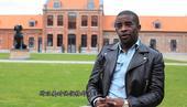 搜狐体育专访法国球星马武巴。