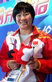 北京奥运会冠军杨秀丽和教练一起做客搜狐访谈。(搜狐-李志岩/摄)更多奥运视频>> 更多奥运图片>>