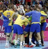 北京时间8月11日,2012年伦敦奥运会男子手球半决赛。匈牙利26-27不敌瑞典。更多奥运视频>> ...