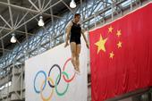 2016年7月14日,北京,正在备战里约奥运会的中国艺术体操队在位于北京体育大学的国家队训练基地综合...
