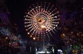 北京时间2016年8月22日,2016年里约奥运会主火炬圣火熄灭。
