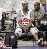 2012年7月24日,2012年伦敦奥运会前瞻,美国男篮备战与西班牙友谊赛,梦之队受追捧。