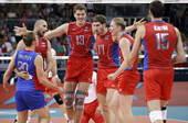 北京时间8月9日,2012伦敦奥运会男1/4决赛,俄罗斯3-0完胜波兰,三局的比分为:25-17、2...