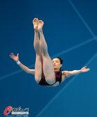 2012年8月4日凌晨,2012年伦敦奥运会跳水女子个人3米板预赛开战,中国队的两位选手吴敏霞与何姿...
