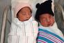 美国龙凤胎跨年出生 相隔2分钟年龄差1岁