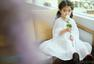 阿拉蕾穿白裙扮仙女美又萌
