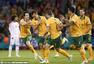 高清:澳大利亚2-0阿联酋挺进决赛 众将疯狂庆祝