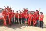 高清:中国越野拉力第11阶段 哈弗车队提前庆祝