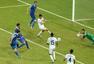 进球回放:希腊铁卫补射得手 希腊补时扳平比分