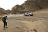 高清:中国越野拉力赛第十阶段 赛车在峡谷穿行