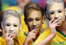 搞怪球迷汇总:各路奇葩汇聚巴西 创意PK谁获胜
