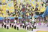 高清图:世界杯闭幕式盛况 夏奇拉红衣激情献唱