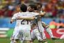 高清图:荷兰5-1西班牙 范佩西罗本斯内德欢庆