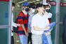 Red Velvet NCT127返韩 成员低调现身显疲惫