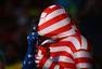 7月2日搞怪球迷:美国老队长PK吐舌比利时红魔