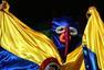 7月5日搞怪球迷:巴西绿巨人PK哥伦比亚大恶魔