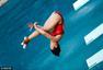 组图:3米板施廷懋何姿包冠亚 抱膝空翻如流水