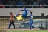 高清:德比战上港1-1申花 莫雷诺破门飞踹角旗
