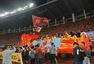 高清:亚冠颁奖典礼 郑智高举奖杯恒大众将欢庆