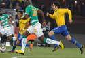高清图:巴西3-1科特迪瓦出线 卡卡送两次助攻