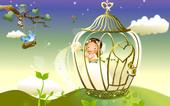 童话般的美丽森林世界壁纸