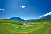 【西宁-贵德-坎布拉-李家峡水库-化隆-循化―临夏―兰州】路线的风光美图。