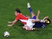 北京时间6月29日晚,在南非世界杯1/8决赛的一场交锋中,巴拉圭和日本在比勒陀利亚的洛夫特斯球场狭路...