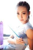 2010年11月8日,北京讯。美女曾暖馨拍摄了一组写真,化身艺术体操宝贝,大秀清纯娇容甜美可人。