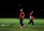 2010年6月30日,南非波切夫斯特鲁姆,西班牙训练备战2010世界杯1/4决赛。
