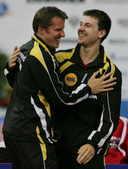 2008年10月7日,在乒球欧锦赛男团决赛中,德国队战胜白俄罗斯队摘金。