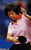 北京时间9月29日,中华人民共和国第十一届运动会乒乓球女子单打的较量在青岛市国信体育馆全面展开。张怡...
