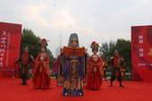 7月4日,境内陕西省西安市传递奥运圣火,起跑仪式现场精彩表演(摄影:范帆;版权:搜狐奥运)