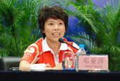 8月22日,发布会上大家会心的微笑。搜狐体育 原生猪/摄