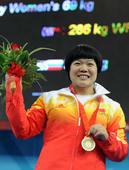 8月13日,刘春红打破女子69公斤级世界纪录,夺得冠军。